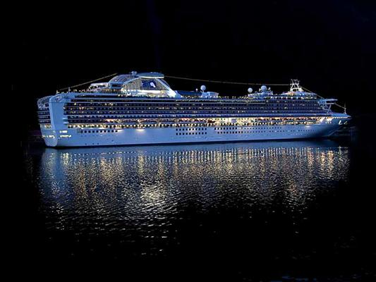 260 Juneau  Cruise Ship At Night 33 Of 81